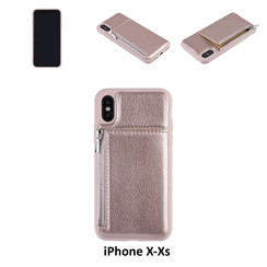 Coque pour iPhone X-Xs - Rose
