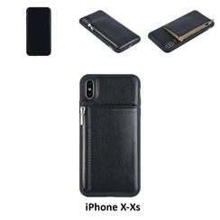 Back Cover voor Apple iPhone Xs Max - Zwart
