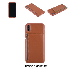 Back Cover for iPhone Xs Max - Brown