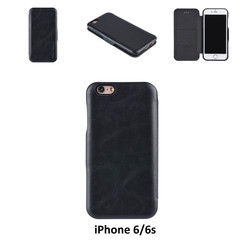 Apple iPhone 6/6s Card holder Black Book type case for iPhone 6/6s Magnetic closure