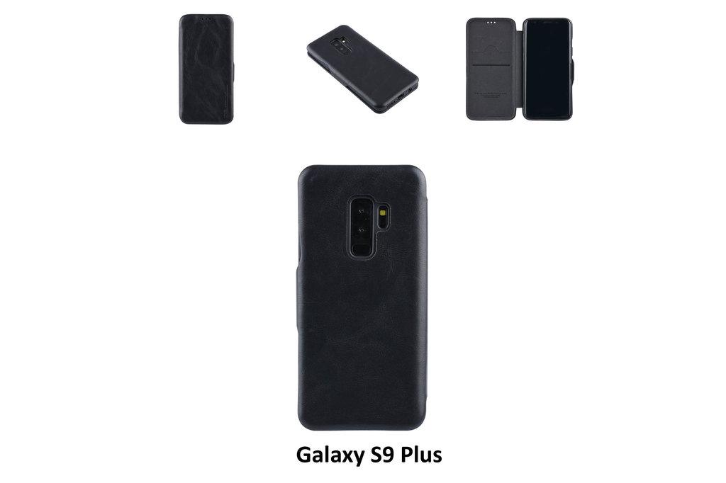 UNIQ Accessory Samsung Galaxy S9 Plus Card holder Black Book type case for Galaxy S9 Plus Magnetic closure
