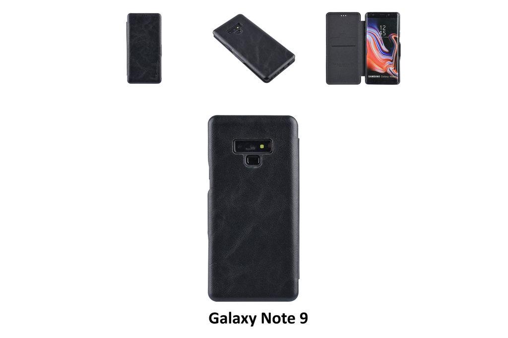 UNIQ Accessory Book Case voor Samsung Galaxy Note 9 - Zwart