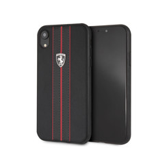 Apple Ferrari Back Cover Noir pour iPhone XR - Urban Off Track
