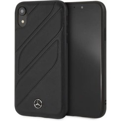 Apple Navy Mercedes-Benz Back Cover voor iPhone XR - New Organic