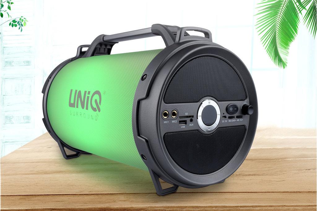 UNIQ Accessory UNIQ Tune Bluetooth Speaker (Karaoke LED Show) - Grey
