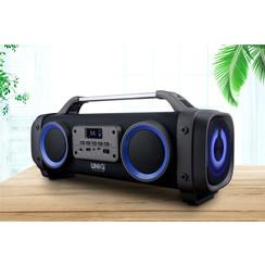 UNIQ Chant Bluetooth Speaker (Karaoke) - Zwart