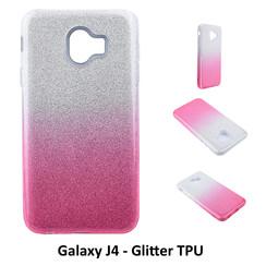 Dégradé Rose Glitter Silikonhülle pour Galaxy J4 Doux et durable