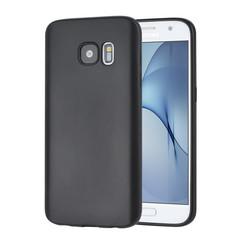Binnenstructuur Zwart TPU Backcover voor Samsung Galaxy S7 -Zacht en duurzaam - TPU