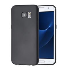 Binnenstructuur Zwart TPU Backcover voor Samsung Galaxy S7 Edge -Zacht en duurzaam - TPU