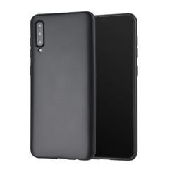 Binnenstructuur Zwart TPU Backcover voor Samsung Galaxy A50 -Zacht en duurzaam - TPU
