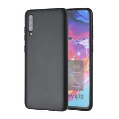 Binnenstructuur Zwart TPU Backcover voor Samsung Galaxy A70 -Zacht en duurzaam - TPU
