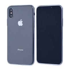 Binnenstructuur Transparant TPU Backcover voor Apple iPhone X;iPhone Xs -Zacht en duurzaam - TPU