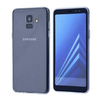 Binnenstructuur TPU Backcover voor Samsung Galaxy A6 (2018) - Transparant