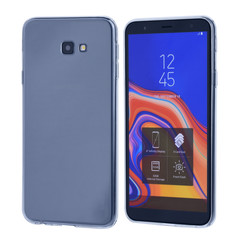 Binnenstructuur TPU Backcover voor Samsung Galaxy J4 Plus - Transparant