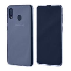 Binnenstructuur Transparant TPU Backcover voor Samsung Galaxy A30 -Zacht en duurzaam - TPU