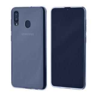 Binnenstructuur TPU Backcover voor Samsung Galaxy A30 - Transparant