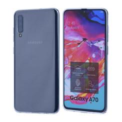Binnenstructuur Transparant TPU Backcover voor Samsung Galaxy A70 -Zacht en duurzaam - TPU