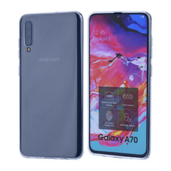 Inside structure Transparent Silikonhülle for Galaxy A70 Soft and durable
