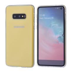 Binnenstructuur Transparant TPU Backcover voor Samsung Galaxy S10e -Zacht en duurzaam - TPU