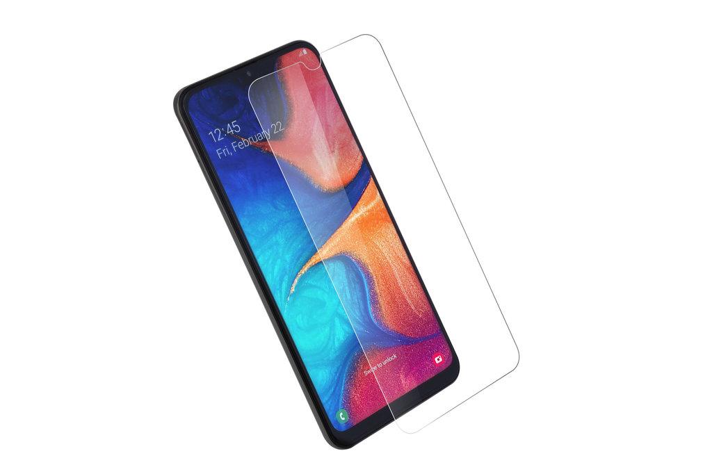 Samsung Galaxy A40 Soft Touch Transparant Screenprotector - Schermbescherming - Tempered Glas
