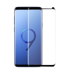 Samsung Galaxy S9  Soft Touch Transparant Screenprotector - Schermbescherming - Tempered Glas