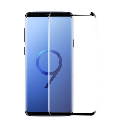 Andere merken Samsung Galaxy S9  Soft Touch Transparant Screenprotector - Schermbescherming - Tempered Glas