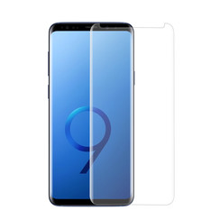 Samsung Galaxy S9  Soft Touch Zwart Screenprotector - Schermbescherming - Tempered Glas