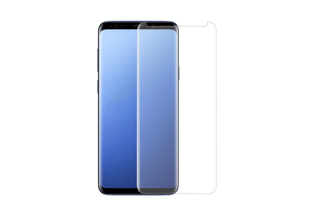 Samsung Galaxy S9 Plus Soft Touch Transparant Screenprotector - Schermbescherming - Tempered Glas