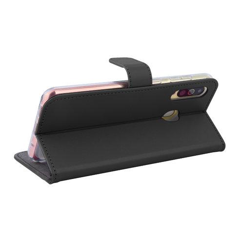 Andere merken Samsung Galaxy A60 Pasjeshouder Zwart Booktype hoesje - Magneetsluiting - Kunstleer; TPU