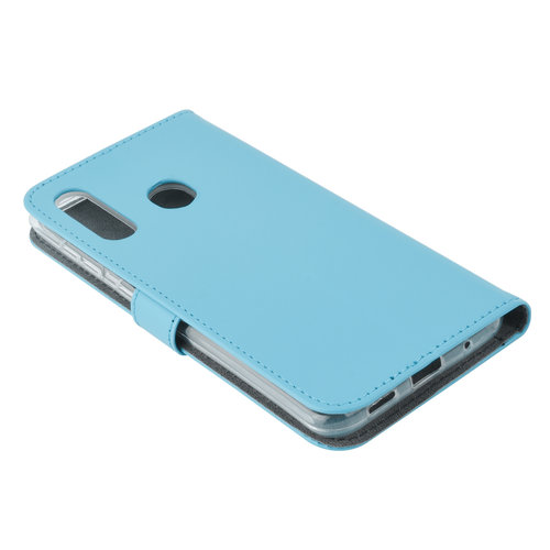 Andere merken Samsung Galaxy M40 Card holder L blue Book type case for Galaxy M40 Magnetic closure