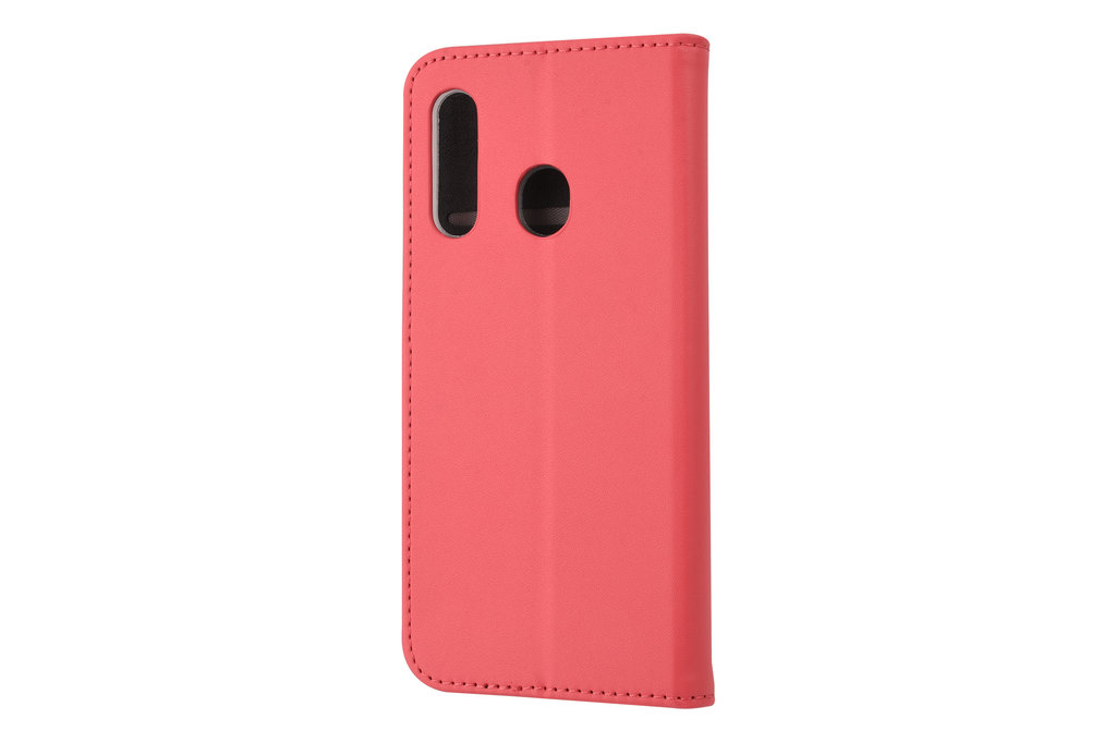 Samsung Galaxy M40 Card holder Red Book type case for Galaxy M40 Magnetic closure