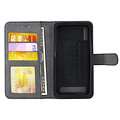 Andere merken Universeel 5 inch Card holder Black Book type case for 5 inch Magnetic closure