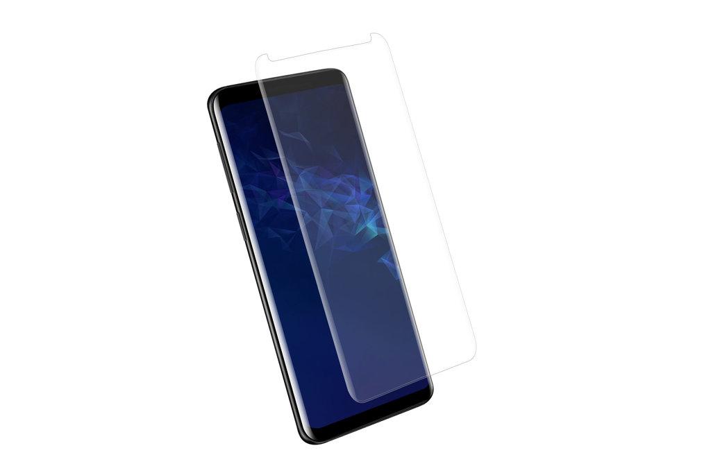 Samsung Galaxy S9  Soft Touch Zwart Screenprotector - Schermbescherming - Tempered Glas