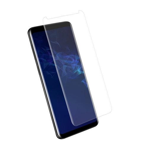 Andere merken Samsung Galaxy S9  Soft Touch Zwart Screenprotector - Schermbescherming - Tempered Glas