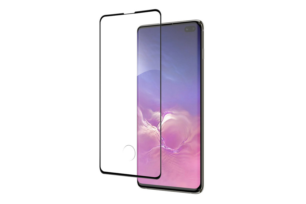 Samsung Galaxy S10+ Soft Touch Black Smartphone screenprotector for Galaxy S10+ Screen protection