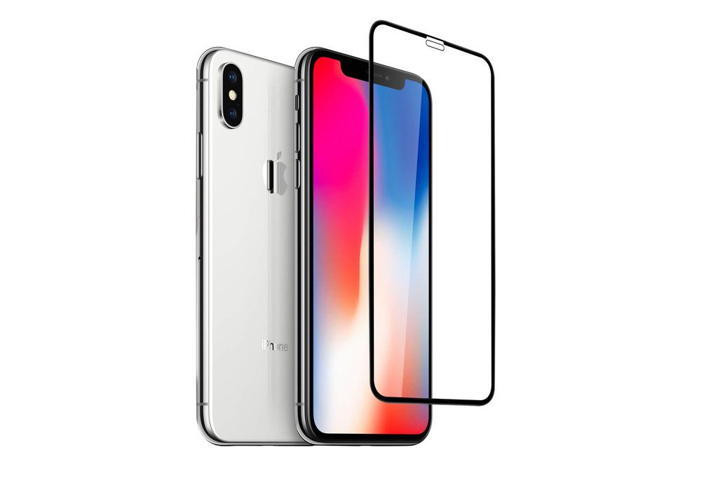 Apple iPhone Xs Max Soft Touch Black Smartphone screenprotector for iPhone Xs Max Screen protection