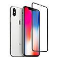 Andere merken Apple iPhone Xs Max Soft Touch Zwart Screenprotector - Schermbescherming - Tempered Glas