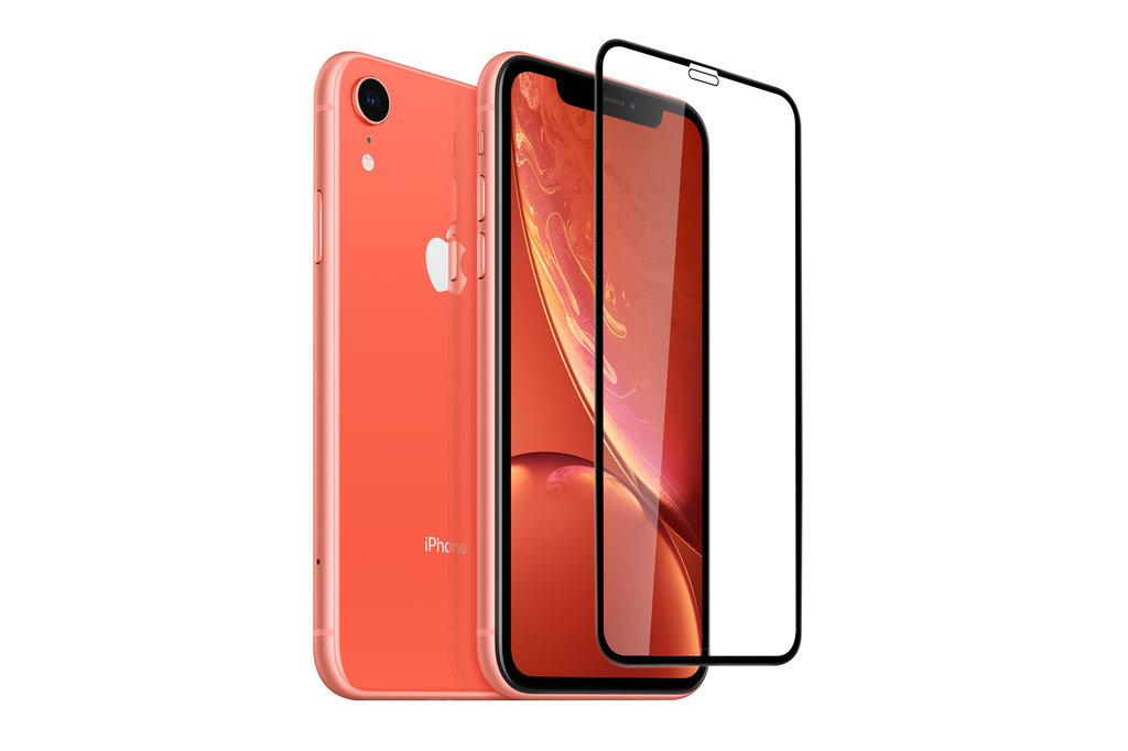 Apple iPhone XR Soft Touch Black Smartphone screenprotector for iPhone XR Screen protection
