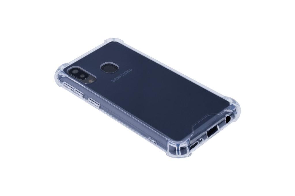 Samsung Galaxy A40 Shockproof Transparant Backcover hoesje - Schermbescherming - TPU