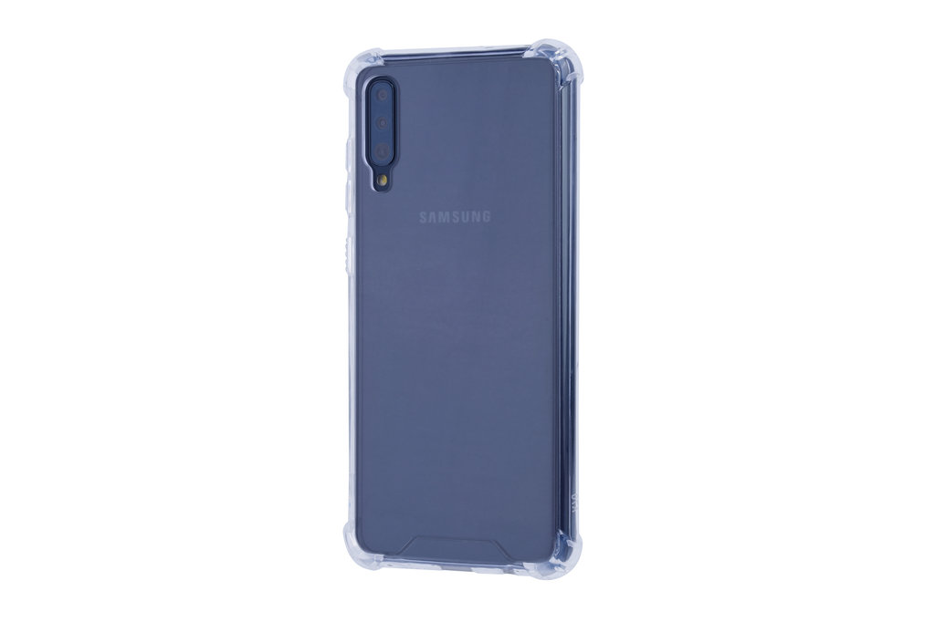Samsung Galaxy A70 Shockproof Transparent Back cover case for Galaxy A70 Screen protection