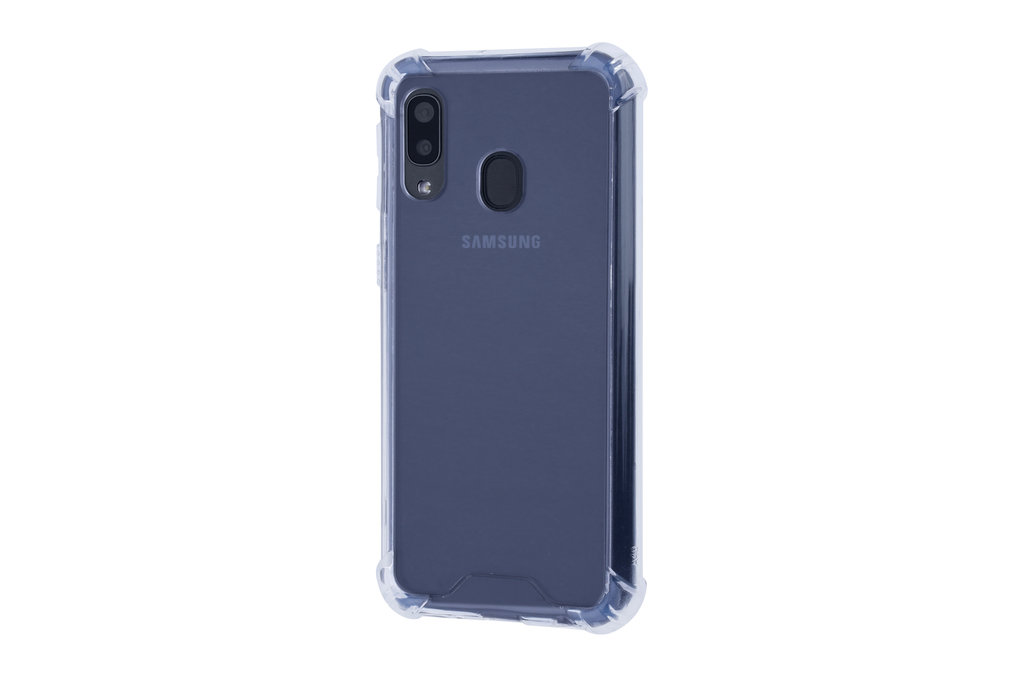 Samsung Galaxy A40 Shockproof Transparent Back cover case for Galaxy A40 Screen protection
