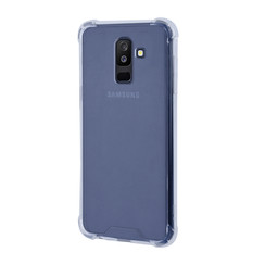 Samsung Galaxy A6 Plus (2018) Shockproof Transparant Backcover hoesje - Schermbescherming - TPU