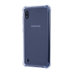Samsung Galaxy A10 Shockproof Transparent Back cover case for Galaxy A10 Screen protection