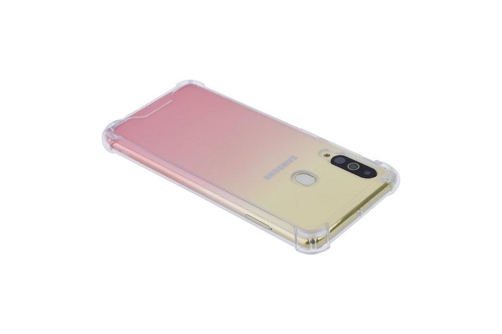Samsung Galaxy A60 Shockproof Transparant Backcover hoesje - Schermbescherming - TPU