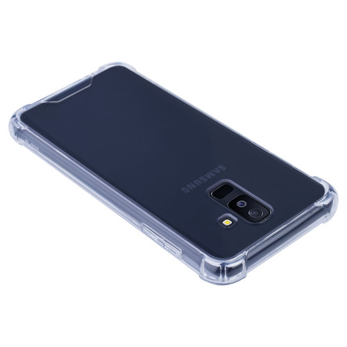 Andere merken Samsung Galaxy A6 Plus (2018) Shockproof Transparent Back cover case for Galaxy A6 Plus (2018) Screen protection
