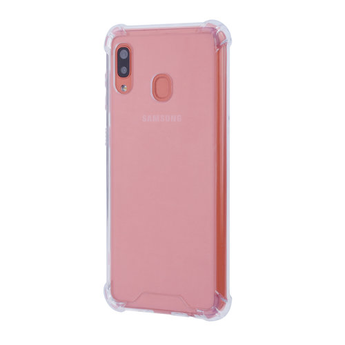 Andere merken Samsung Galaxy A20 Shockproof Transparent Back cover case for Galaxy A20 Screen protection