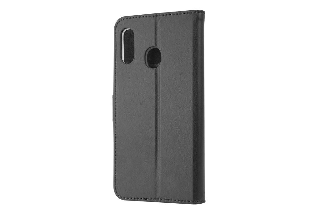Samsung Galaxy A20e Card holder Black Book type case for Galaxy A20e Magnetic closure
