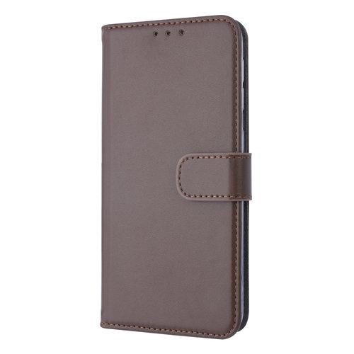 Andere merken Samsung Galaxy A20e Card holder Brown Book type case for Galaxy A20e Magnetic closure