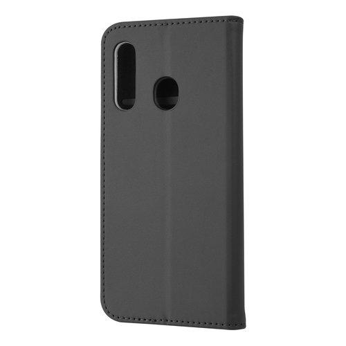 Andere merken Samsung Galaxy M40 Pasjeshouder Zwart Booktype hoesje - Magneetsluiting - Kunstleer; TPU