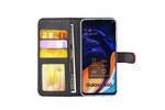Samsung Galaxy A60 Pasjeshouder Rood Booktype hoesje - Magneetsluiting - Kunstleer; TPU